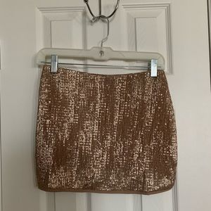 Westville Sequin Mini Skirt